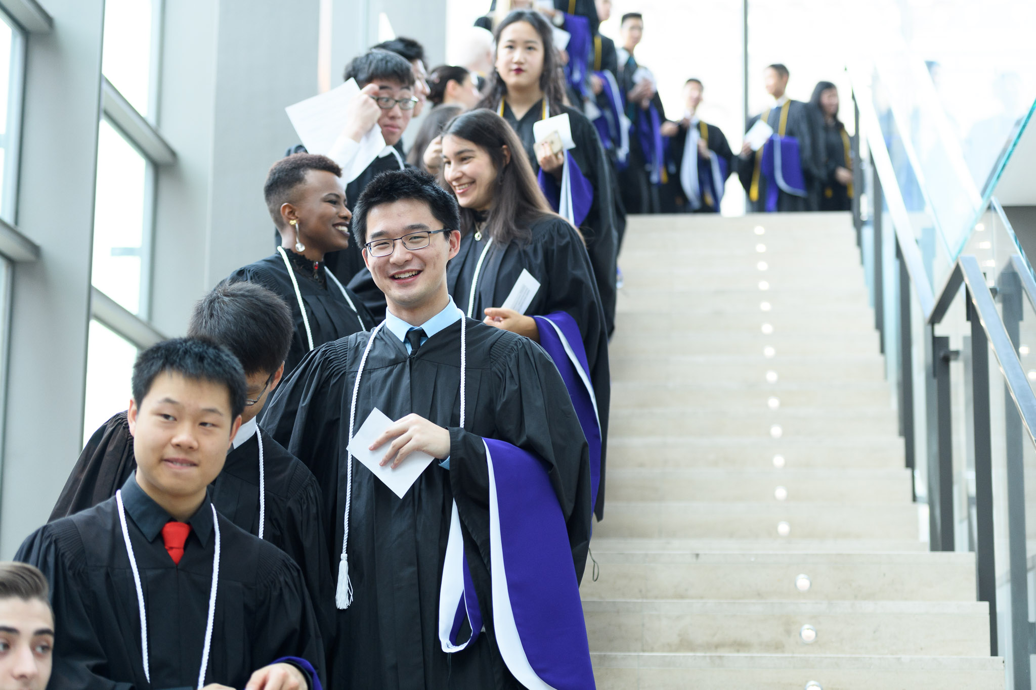 Convocation scene