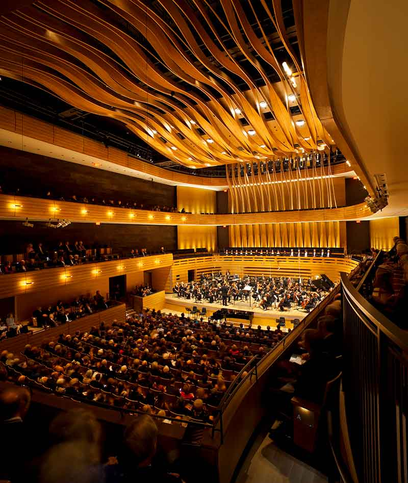 Koerner Hall, Opening Night - photo by Tom Arban