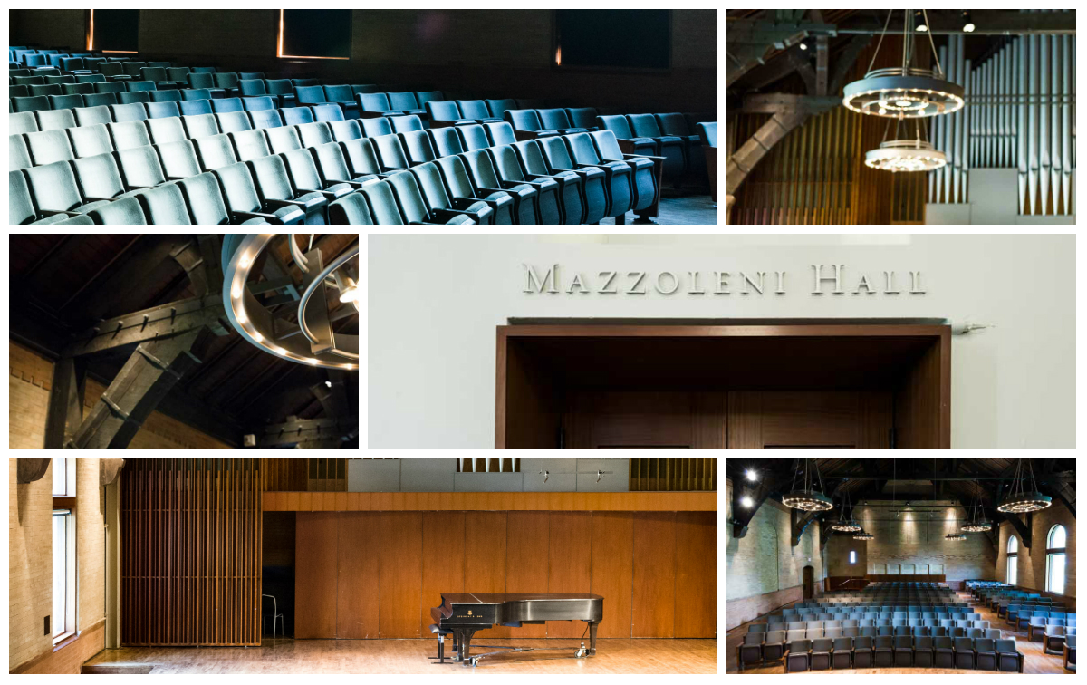 Mazzoleni Concert Hall Gallery