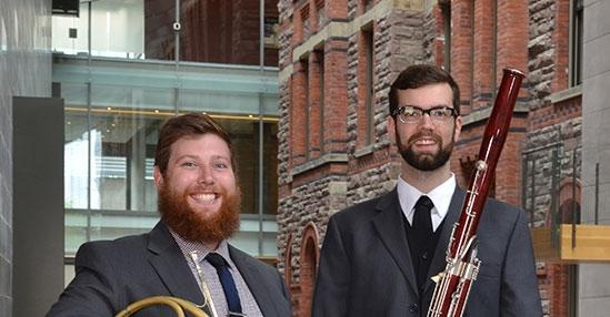 Mikhailo Babiak and Darren Hicks