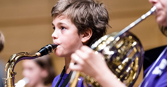 On Sept 25, The Royal Conservatory launches its first band program for children.