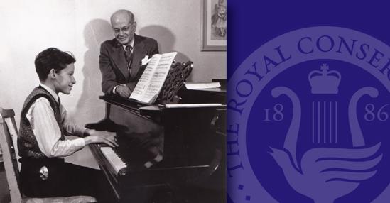 Glenn Gould with Alberto Guerrero