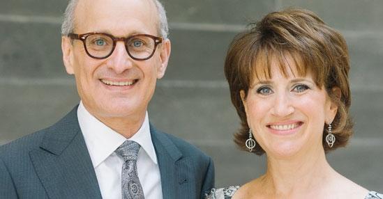 Ron and Sari Goldenberg