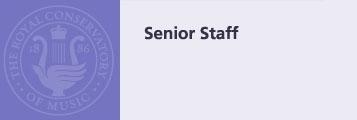 Senior Staff