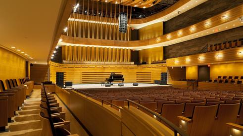 Koerner Hall Stage