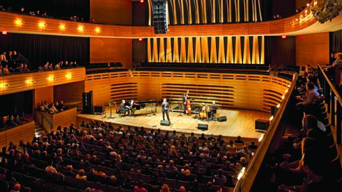 Performance at Koerner Hall