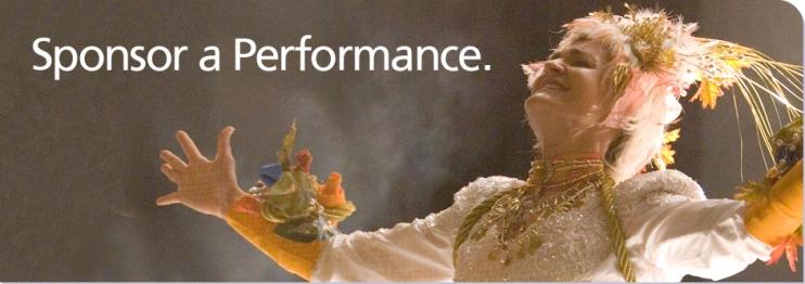 Sponsor a Performance
