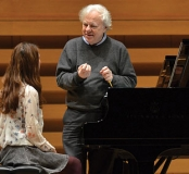 Richard Goode with Student