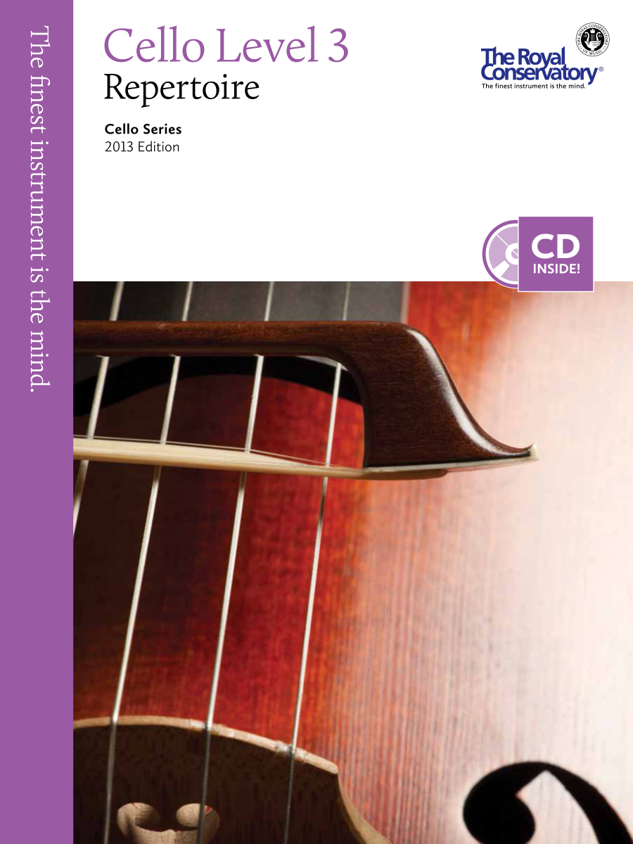 RCm Publishing Cello Levelled Series