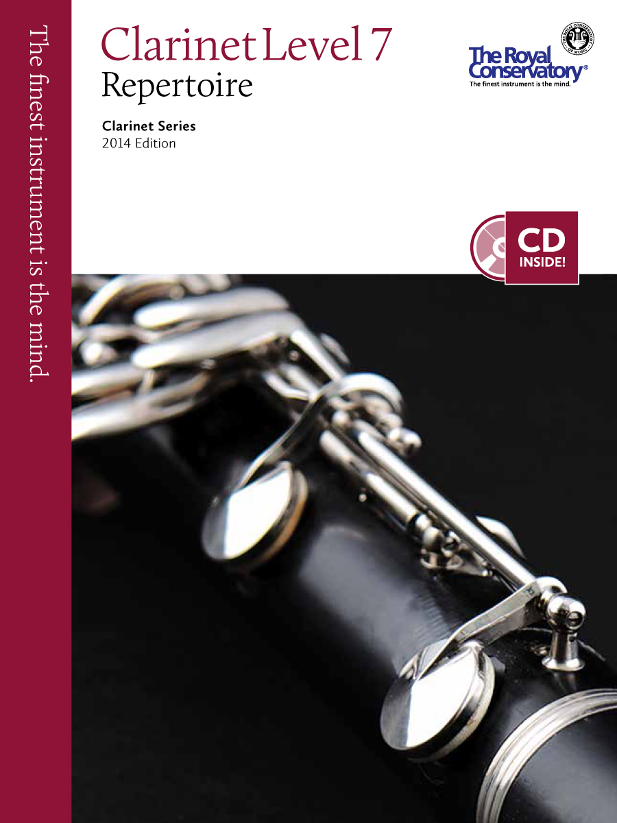 RCM Publishing Clarinet levelled series
