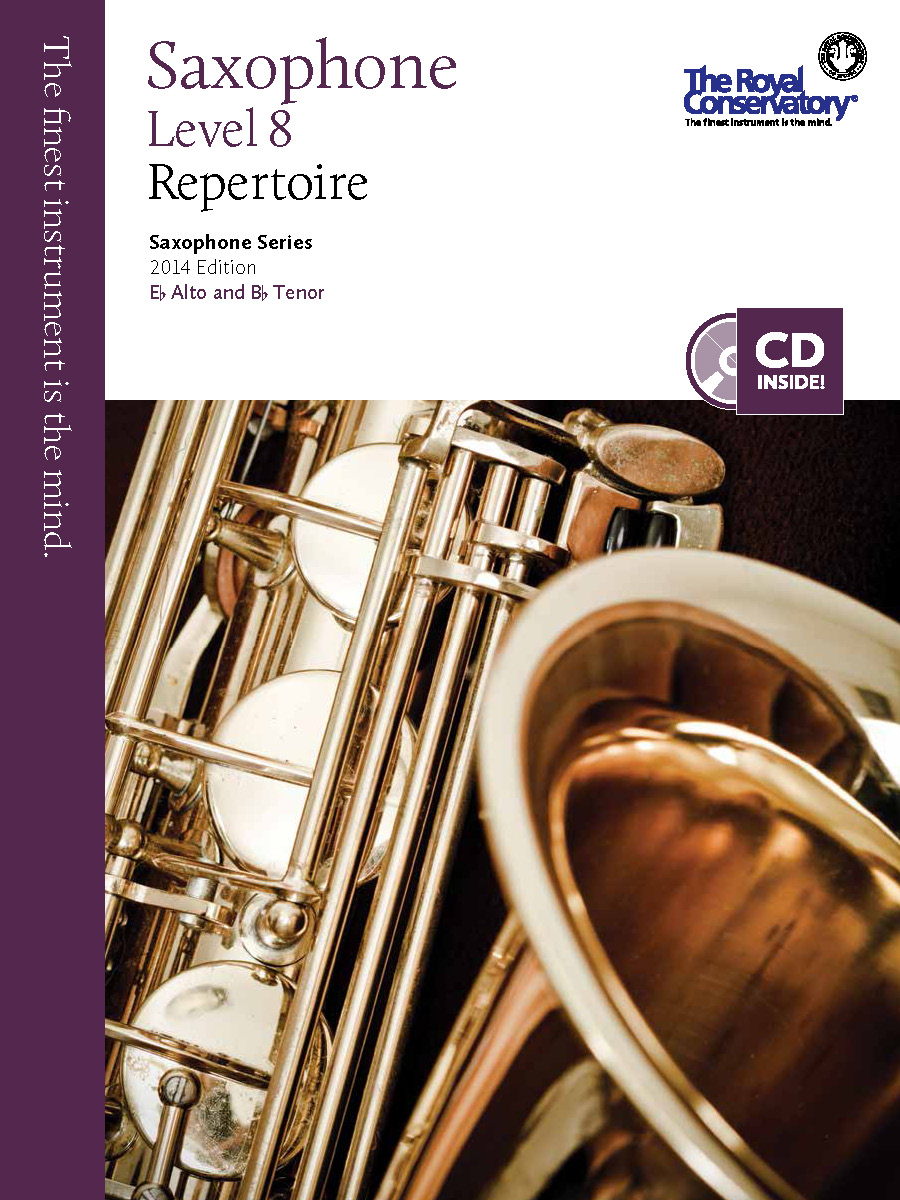 RCM Publishing Saxophone levelled series