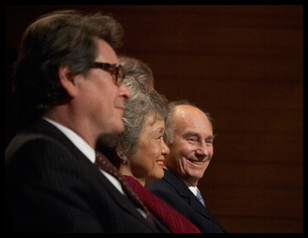 Dr. Peter Simon, The Right Honourable Adrienne Clarkson, His Royal Highness The Aga Khan