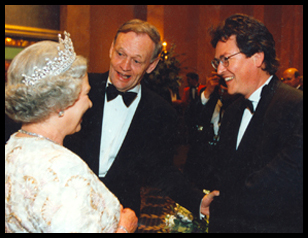 Queen Elizabeth II, The Right Honorable Jean Chrétien, Peter Simon