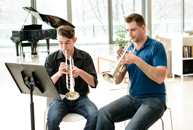 Band Enrichment Program at The Royal Conservatory School in Toronto