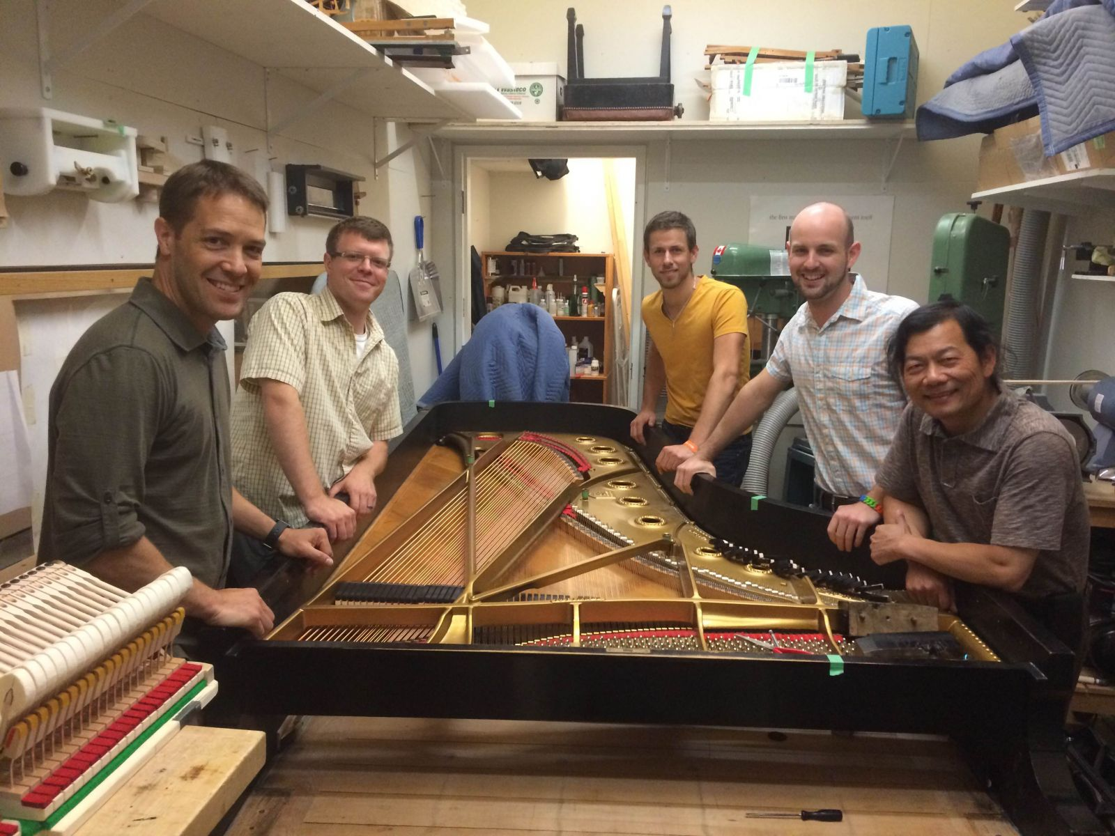 Dan Mackay, Damon Groves, Koen Tholhuijsen, James Bainbridge, Cheng Huang