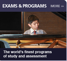 Exams & Programs:  The world's finest programs of study and assessment