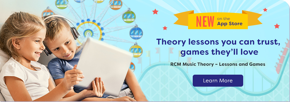 RCM Music Theory App Preparatory–Lessons and Games
