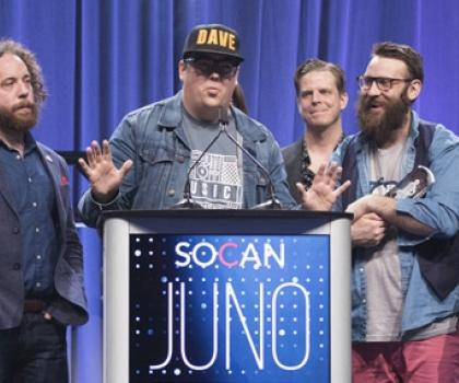 Artists at Juno Awards - Alumni and Honorary Fellows Dominate 2017 JUNO Awards
