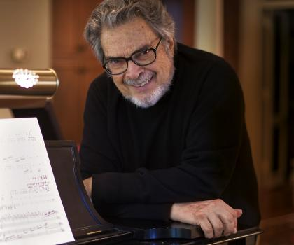 Leon Fleisher conducts the Royal Conservatory Orchestra