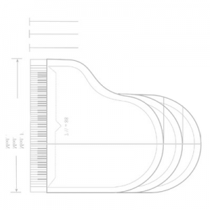 An image of a piano sketch, not a cello