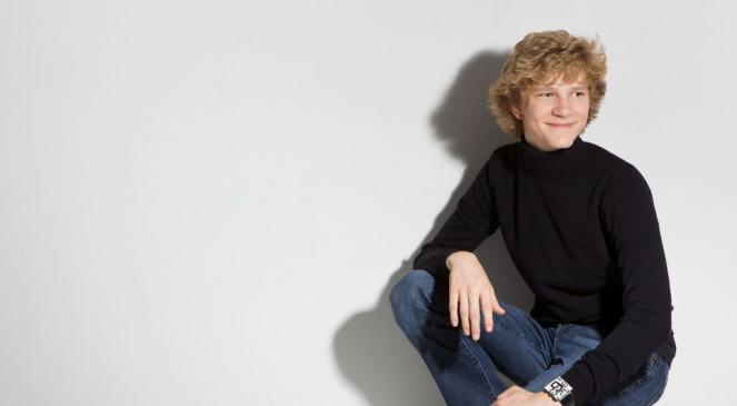 A young Jan Lisiecki