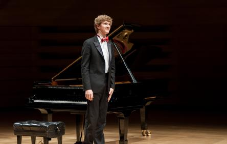 Jan Lisiecki performing in Koerner Hall: 2015